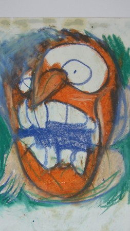 1999_autoportrait orange_18x25.JPG